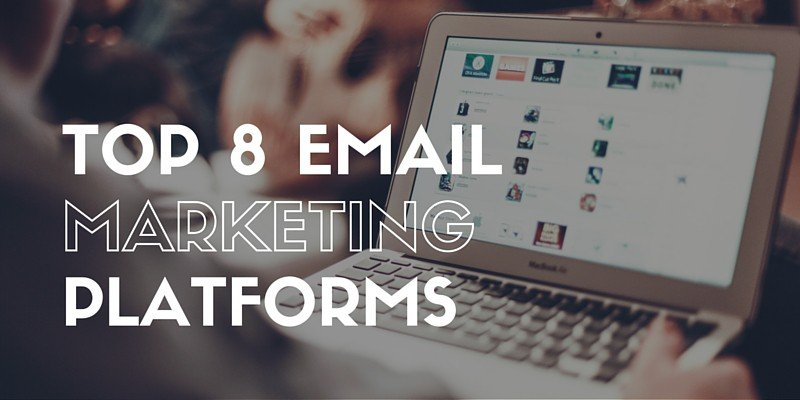 top email platforms graphic